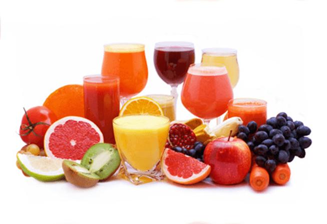 detox kuur met fruit en veel lichaamsbeweging